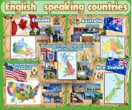 А_775 ENGLISH-SPEAKING COUNTRIES